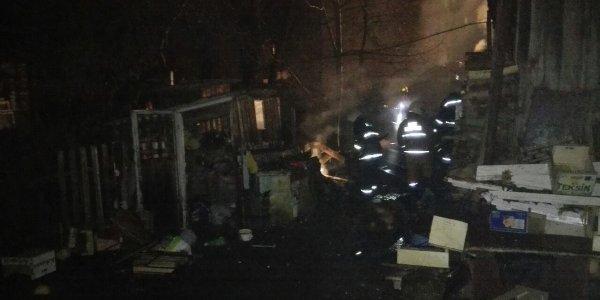 В Лиде на пожаре погиб 55-летний местный житель