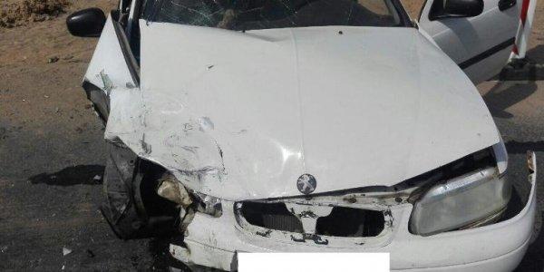 В Лидском районе при обгоне перевернулся автомобиль. Непристегнутая пассажирка погибла
