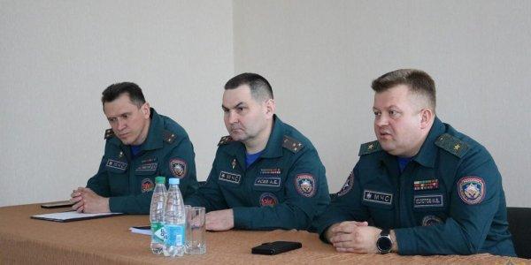 Лидский район посетил заместитель министра по чрезвычайным ситуациям Игорь Болотов
