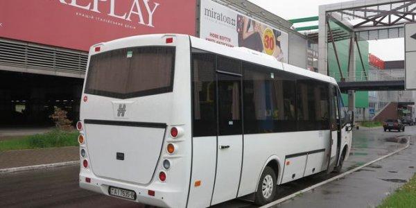 В Украину прибыл необычный автобус  из Лиды