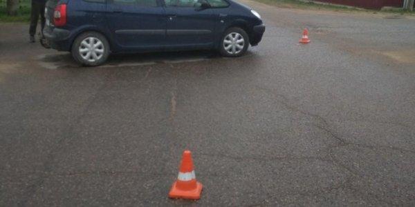 В Березовке водитель не уступил дорогу