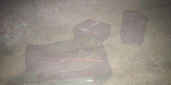 Лидские пограничники задержали контрабанду из 4000 пачек сигарет