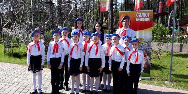 Команда из Лиды заняла 3 место в патриотической игре «Зарничка»