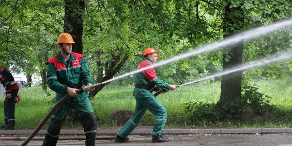 На Лидчине определили лучшую пожарную дружину