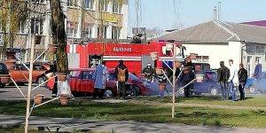 В Лиде горел автомобиль