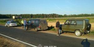 В Лидском районе пограничники задержали беларуса, который вез пятерых афганцев в сторону литовской границы