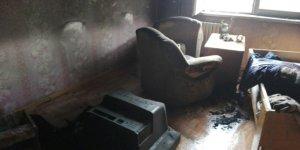 В Лиде горела квартира