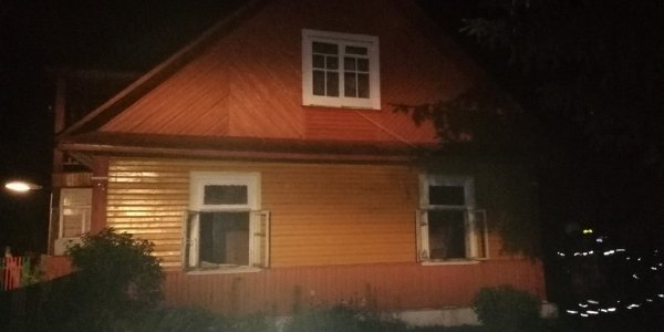 При пожаре в Лидском районе погиб мужчина