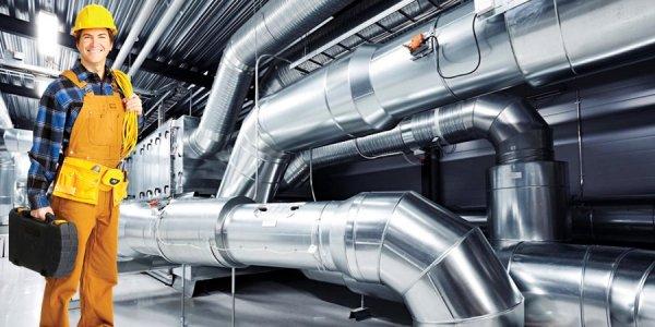Монтаж и установка систем кондиционирования на производстве
