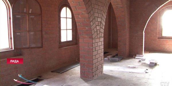 В Лидском замке будут полы с подогревом и смотровая площадка