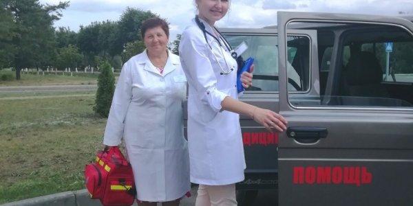 Председатель профкома Лидской центральной районной больницы побывала на уборочной