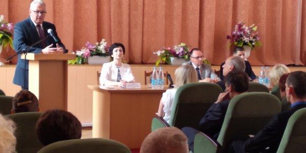 Лиду посетил с рабочим визитом министр образования