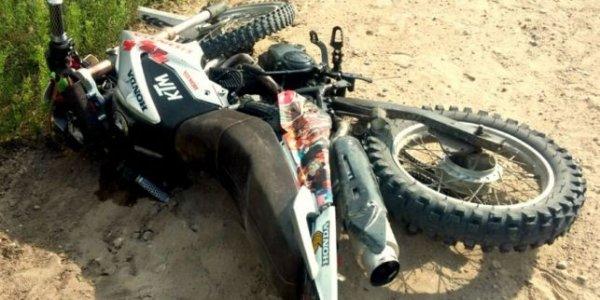 Пьяный мотоциклист без шлема пострадал в аварии в Лидском районе