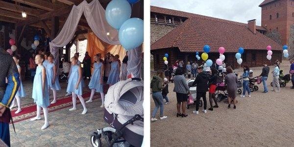 В Лидском замке прошла регистрация новорожденных детей