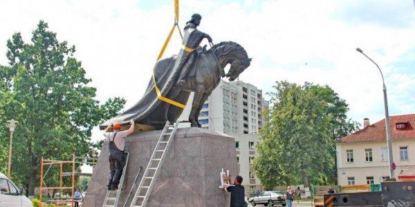 В Лиде 7 сентября состоится открытие памятника князю Гедимину