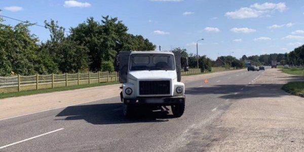 Авария с пострадавшим мотоциклистом произошла в деревне Минойты Лидского района.