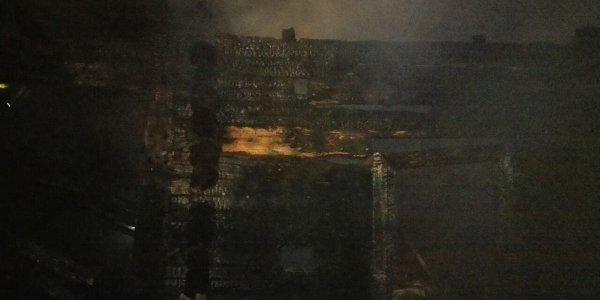 В Лидском районе при пожаре погибли два человека