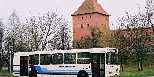 Изменение маршрутов движения автобусов в Лиде с 5 по 8 сентября 2019