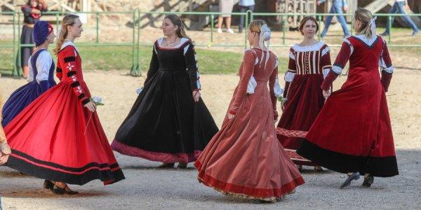 В Лиде состоялся рыцарский турнир «Меч Лидского замка»