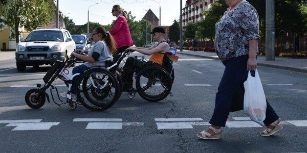 В Лиде открылась инклюзивная велодорожка — первая в Беларуси