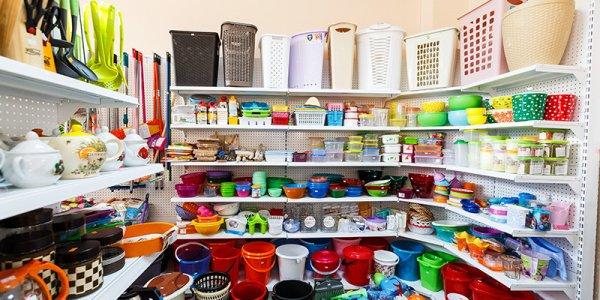 Крупный выбор хозяйственных товаров в магазине хозтоваров plastic-shop.in.ua