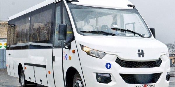 Новые Лидские автобусы «Неман» начинают курсировать в Орше