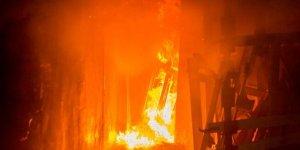 В Лиде горел жилой дом
