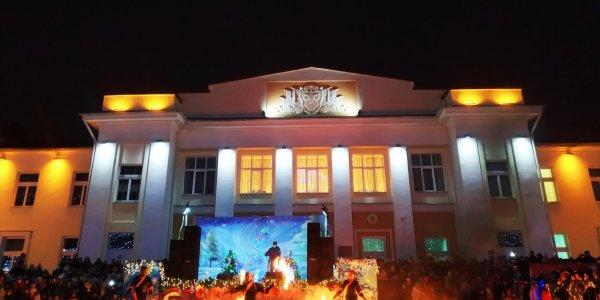 Город Лида засверкал новогодними огнями