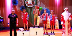 В Березовке прошел турнир по греко-римской борьбе