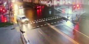 В Лиде зарегистрировано ДТП с участием пешехода (Видео)