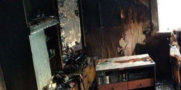 В Лиде при пожаре погибла супружеская пара