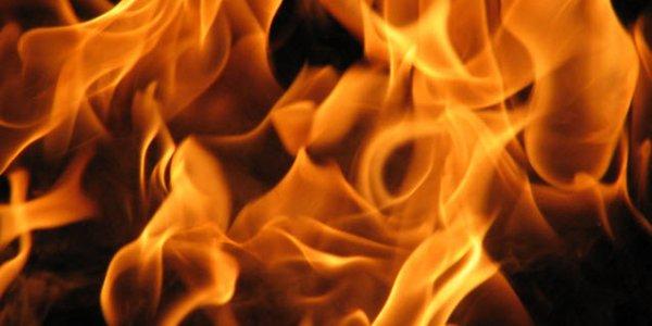 На улице Кленовой в Лиде произошел пожар