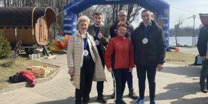 Спортсмены из Лиды стали призерами на открытой воде «Весенние старты»