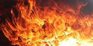 В Лиде горел подвал в многоквартирном доме
